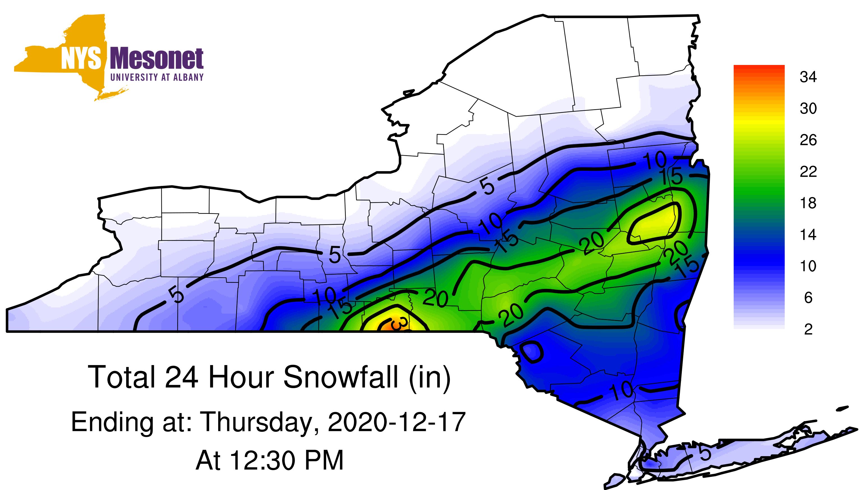 NY snowfall prediction graphic