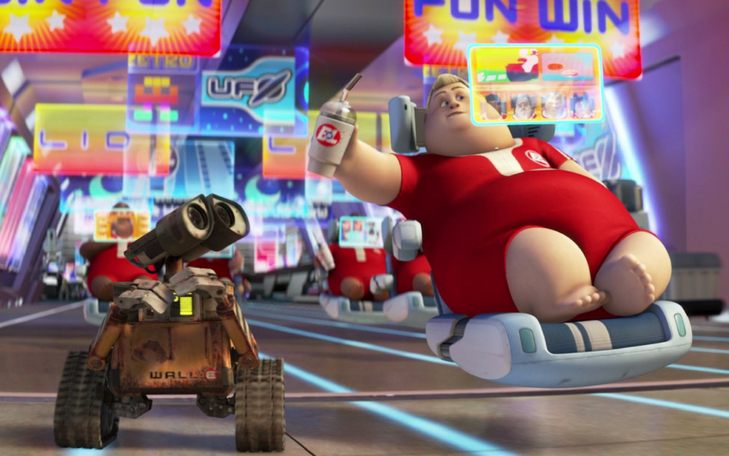 Image from Wall-E the movie