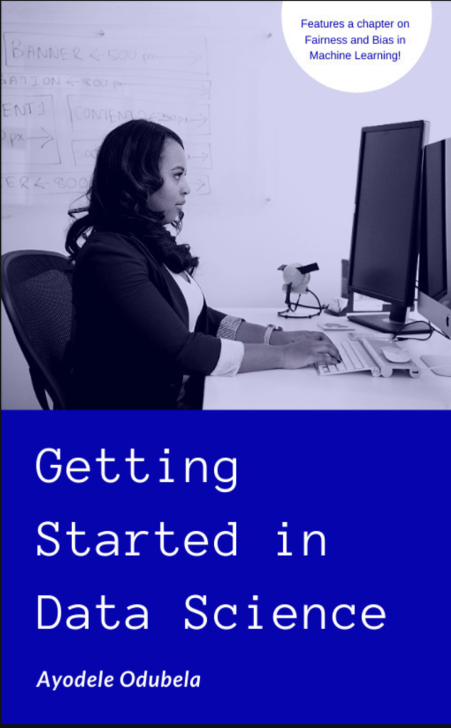 Book cover for Getting Started in Data Science