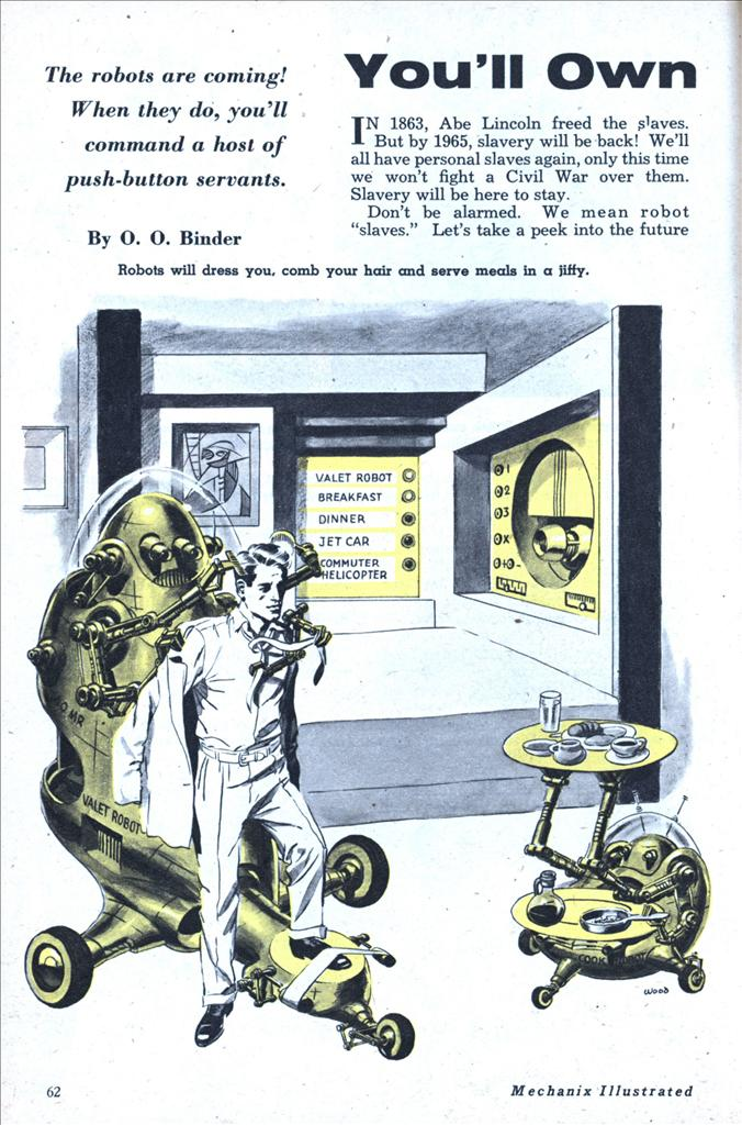Mechanix magazine illustration